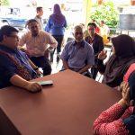Lawatan ADUN Kuang ke RS Selangor
